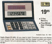 CALCUSEUM RADIO SHACK: EC409